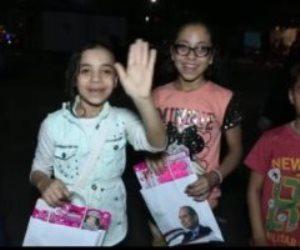 """هدية الرئيس السيسي لأطفال مصر في العيد.. """"مستقبل وطن"""" يجوب المحافظات بالهدايا (فيديو)"""