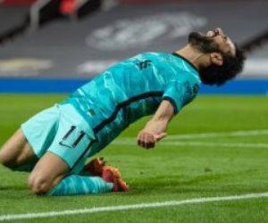 محمد صلاح يحرز هدف تعادل ليفربول ضد وست بروميتش بالدقيقة 33.. فيديو