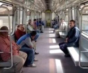 توقف قطارات الخط الأول للمترو بسبب حدوث عطل بمحطة غمرة