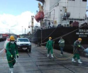 الحكومة تكشف حقيقة تلوث ميناء الإسكندرية لتسرب بقع زيتية من السفن الضخمة