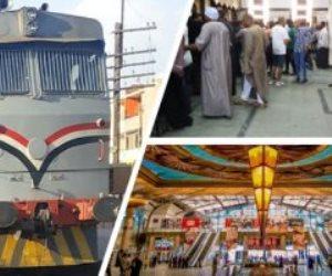 السكة الحديد تعلن الطوارئ لاستقبال العيد واستمرار حجز القطارات الإضافية