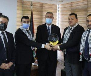 السفير دياب اللوح يطلع نواب تنسيقية شباب الأحزاب والسياسيين على تطورات العدوان الغاشم في فلسطين