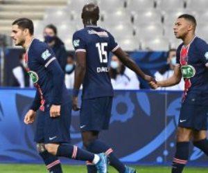 للمرة الـ14 فى تاريخه .. باريس جيرمان يتوج بكأس فرنسا بثنائية ضد موناكو.. فيديو