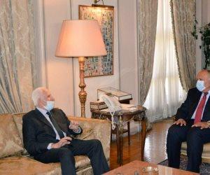 وزير الخارجية يؤكد على مواصلة الجهود لإنهاء التصعيد الحالي في الأراضي الفلسطينية