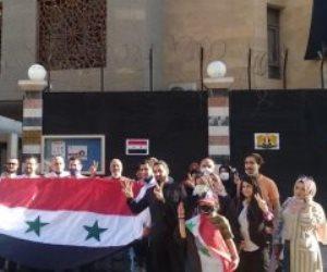 الانتخابات الرئاسية السورية..  السوريون المقيمون بالقاهرة يدلون بأصواتهم