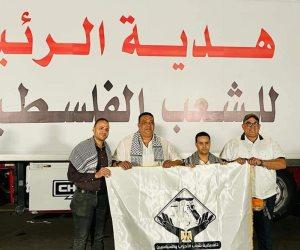 «هدية الرئيس».. قافلة مساعدات طبية مصرية إلى غزة بمشاركة تنسيقية شباب الأحزاب