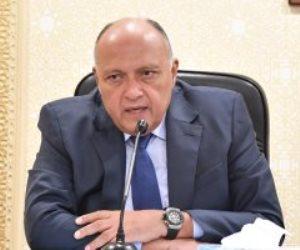 وزير الخارجية: نثق فى الكونغو ويجب وضع جدول زمنى لمفاوضات سد النهضة