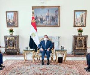 السيسي يؤكد على العلاقات الاستراتيجية الراسخة بين مصر وقبرص