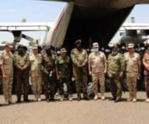 """وصول القوات المصرية المشاركة في تدريب """"حماة النيل"""" بالسودان"""