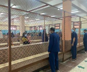 """زيارة مفاجأة لـ""""صوت الأمة"""" في سجن المنيا تكذب شائعات حرمان النزلاء من الزيارات (صور)"""