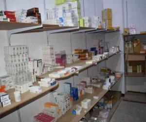 ضبط 60 ألف زجاجة مضاد حيوى منتهية الصلاحية بمخزن أدوية بالقليوبية