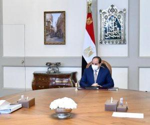 الرئيس السيسى يوجه بتدقيق كافة الدراسات الخاصة باستصلاح الأراضي في سيناء من جميع الجوانب