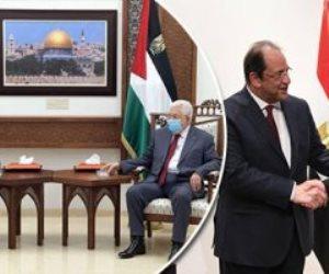 الرئيس السيسي يؤكد لأبو مازن دعمه لفلسطين.. يوفد رئيس المخابرات العامة لإجراء مباحثات مع إسرائيل ويوجه بإعادة الإعمار