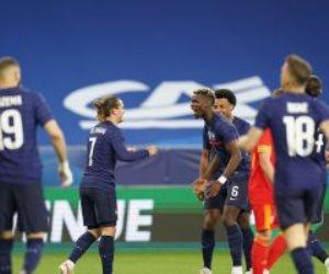 منتخب فرنسا يحسم مواجهة ويلز الودية بثلاثية استعدادا لليورو.. فيديو