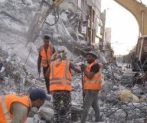 مصر دولة أفعال.. أول صور من داخل غزة لعمليات إزالة الركام بالآليات المصرية
