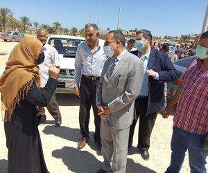 محافظ شمال سيناء: إنهاء إنشاء 84 عمارة بمدينة رفح الجديدة بإجمالي 1344 شقة.. وتسليم المرحلة قريبا (صور)