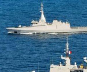 القوات البحرية المصرية والفرنسية تنفذان تدريبا بحريا عابرا بنطاق الإسطول الشمالى