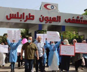 إضراب جزئي في القطاع الطبي الليبي يزيد من مخاطر كورونا.. فماذا ردت عليه حكومة دبيبة؟