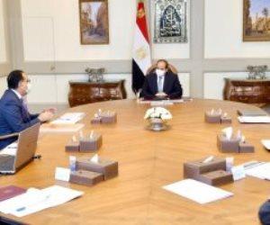 """الرئيس السيسى يوجه بوضع مخطط متكامل لتطوير شركة """"فاكسيرا"""" ورفع قدراتها"""