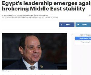 صحف أمريكية: السيسى أعاد نفوذ القاهرة في الشرق الأوسط.. والاتفاقيات في أفريقيا تبرز حكمة قيادتها السياسية