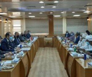 جلسة مباحثات موسعة بين وزيرى الخارجية والرى مع نظيريهما السودانيين