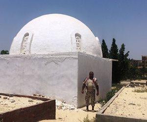 قصة العثور على طفلة بجوار مقبرة عبد الرحمن الأبنودي بالإسماعيلية