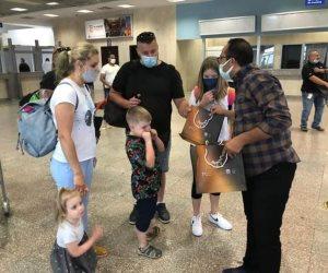 شرم الشيخ تستقبل أولى رحلات الطيران الوافدة من مطار مالبينسا الإيطالية