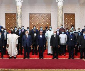 السيسي: مصر حاربت الإرهاب بالتوازي مع جهود التنمية الشاملة