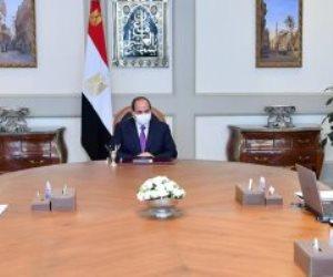 """الرئيس السيسى يستعرض الموقف التنفيذى للمشروعات القومية لـ""""الإسكان"""" بالجمهورية"""
