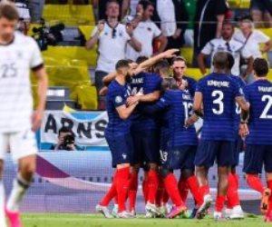 يورو 2020.. منتخب فرنسا يتفوق بهدف من نيران صديقة على ألمانيا بالشوط الأول