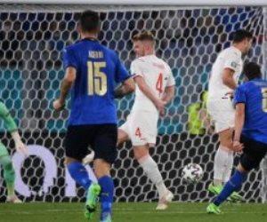 إيموبيلي يضيف الهدف الثالث لمنتخب إيطاليا ضد سويسرا وبلاده تضمن التاهل للدور الثاني في يورو 2020 .. فيديو