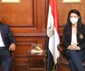 وزيرة التعاون الدولي تبحث مع أمين «الوحدة الاقتصادية العربية» تطوير دور المجلس