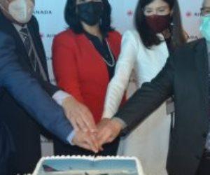 السفارة الكندية تحتفى بأول رحلة من مونتريال للقاهرة: خطوة جديدة لتعاون ممتد