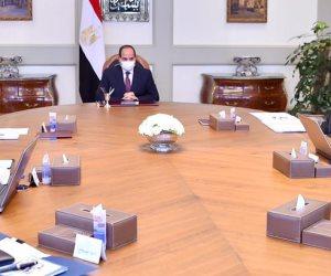الرئيس السيسى يوجه بمواصلة تنفيذ خطة توصيل الغاز الطبيعي للوحدات السكنية والمدن الجديدة