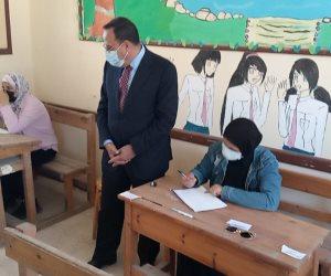محافظ شمال سيناء يؤكد: امتحانات الدبلومات الفنية والثانوية الأزهرية تسير بسهولة ويسر (صور)