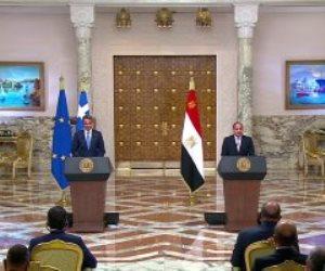 مصر واليونان تؤكدان ثبات المواقف بينهما.. واتساق مصالحهما في منطقة شرق المتوسط