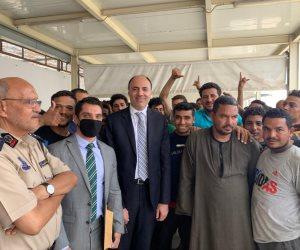 إطلاق سراح 90 مصريا كانوا محتجزين في مقر الهجرة غير الشرعية بطرابلس