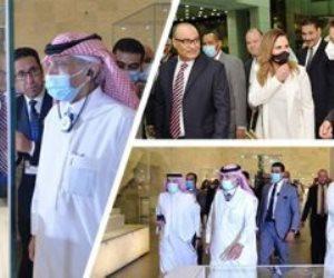 """رسالة وزراء الإعلام العرب من متحف الحضارة: """"مصر عادت شمسك الذهب"""".. فيديو"""