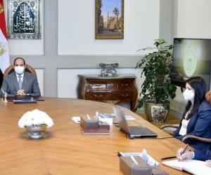 الرئيس السيسي يوجه بمواصلة تعزيز علاقات التعاون مع مؤسسات دعم قطاعات التنمية المستدامة والتمويل الدولية