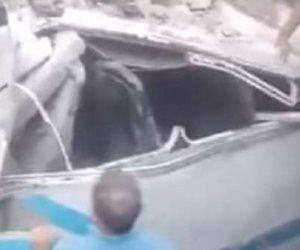 القبض على السائقين المتهمين بالتسبب فى حادث قطار حلوان