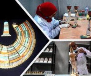 """7 سنوات من الإنجازات.. مصنع """"المستنسخات الأثرية"""" الأول من نوعه عالميا في مجال السياحة"""