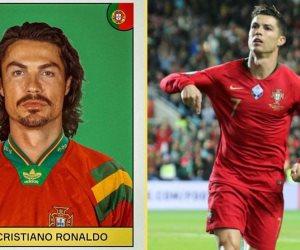 """صحيفة إسبانية تنشر صور  نجوم يورو 2020 في """"فوتو سيشن"""" الثمانينات"""