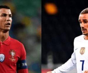 التشكيل الرسمي لقمة البرتغال وفرنسا في يورو 2020.. فيديو