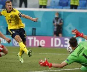 بهدف قاتل .. السويد تتغلب علي بولندا وتتصدر المجموعة الخامسة فى يورو 2020.. فيديو