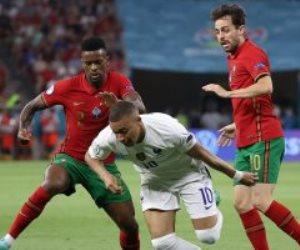في شوط أول مثير ..تعادل البرتغال وفرنسا بهدفي رونالدو وبنزيما من ركلتي جزاء .. فيديو