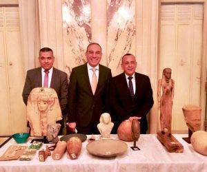 (الأعلى للأثار ) يعلن موعد عودة القطع الأثرية المستردة من فرنسا (صور)