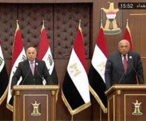وزير الخارجية: نتطلع لاستضافة القمة الرابعة بين مصر والعراق والأردن فى القاهرة