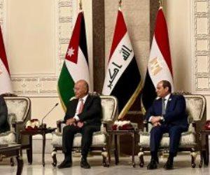 البيان الختامي لقمة بغداد: دعم موقف مصر والسودان في قضية سد النهضة