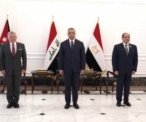 نص البيان الختامى للقمة الثلاثية فى بغداد