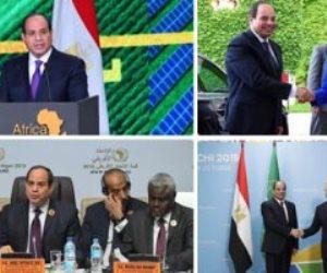القائد الحكيم.. كيف نجح الرئيس السيسي في العبور بالعلاقات المصرية الأفريقية من الظلام إلي النور؟